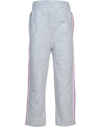 Steiff Jogger pants SWEET CHERRY soft grey melange 2013406-9007