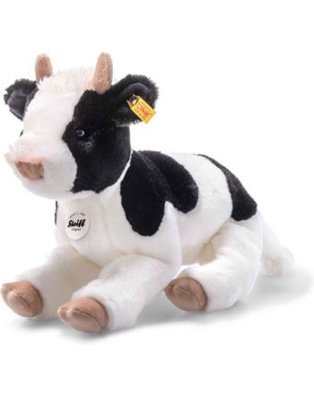 Steiff veau Luise 32 cm noir/blanc couché 072161