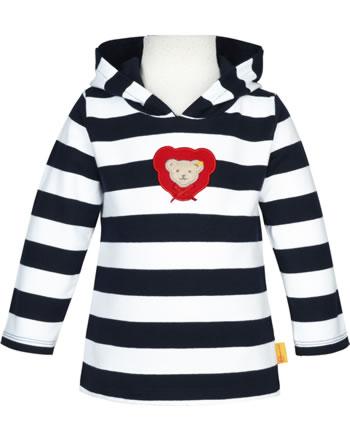 Steiff Hooded sweatshirt AHOI BABY steiff navy 2012238-3032
