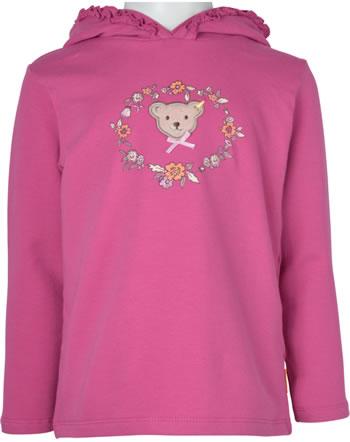 Steiff Kapuzen-Sweatshirt BEST FRIENDS Mini Girls claret red 2123203-3057