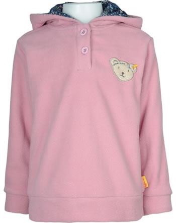 Steiff Kapuzen-Sweatshirt Fleece SWEET HEART Mini Girls pink nectar 2121220-3035