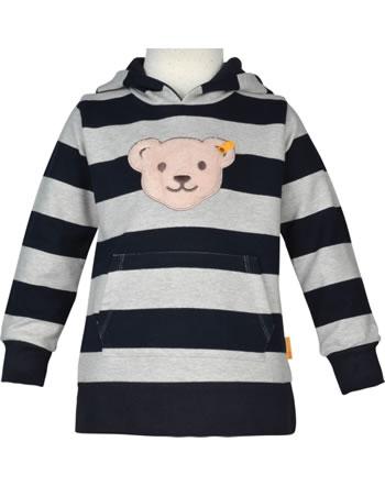 Steiff Sweatshirt Kapuze Quietsche BEAR TO SCHOOL soft grey melange 2021106-9007