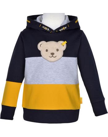 Steiff Kapuzen-Sweatshirt Quietsche LETS PLAY Mini Boys steiff navy 2121120-3032