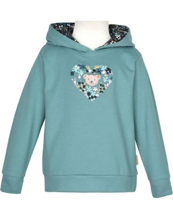 Steiff Kapuzen-Sweatshirt SWEET HEART Mini Girls adriatic blue 2121213-6045