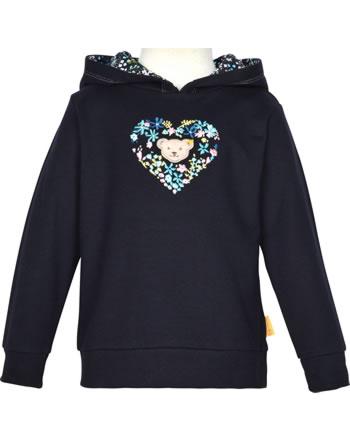 Steiff Kapuzen-Sweatshirt SWEET HEART Mini Girls steiff navy 2121213-3032