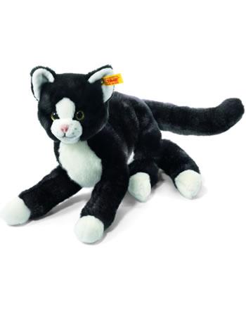 Steiff Plüsch Katze Mimmi schwarz/weiss 30 cm 099366