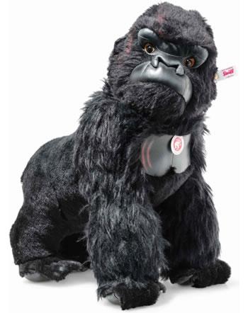 Steiff King Kong 42 cm mohair noir debout 355448