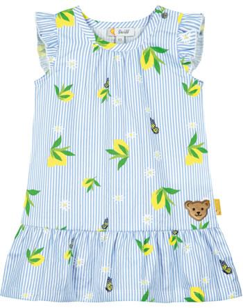 Steiff Kleid ärmellos HELLO SUMMER Baby Girls brunnera blue 2113417-6043