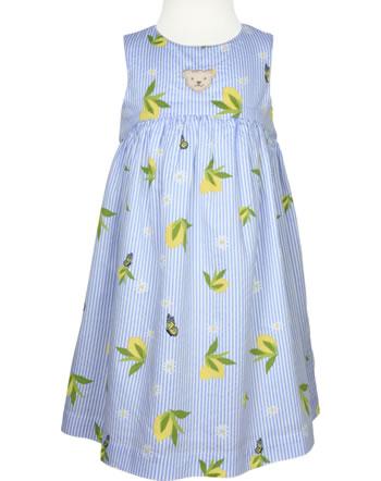 Steiff Kleid ärmellos HELLO SUMMER Mini Girls brunnera blue 2113212-6043