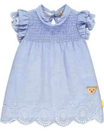 Steiff Kleid Flügelarm HELLO SUMMER Baby Girls brunnera blue 2113418-6043