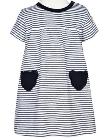 Steiff Dress short sleeve AHOI BABY stripes steiff navy 2012215-3032
