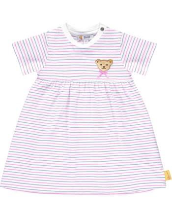 Steiff Dress short sleeve BEAR AND CHERRY bright white 2013245-1000