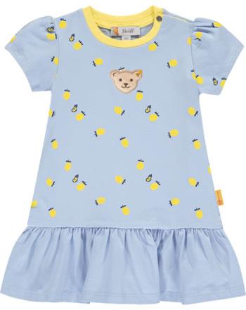 Steiff Kleid Kurzarm HELLO SUMMER Baby Girls brunnera blue 2113446-6043