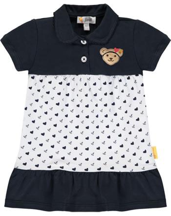 Steiff Kleid Kurzarm MARINE AIR Baby Girls steiff navy 2112415-3032