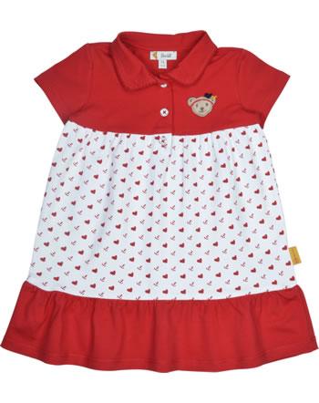 Steiff Kleid Kurzarm MARINE AIR Baby Girls true red 2112415-4015