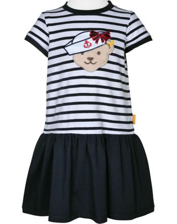 Steiff Dress short sleeve MARINE AIR Mini Girls steiff navy 2112209-3032