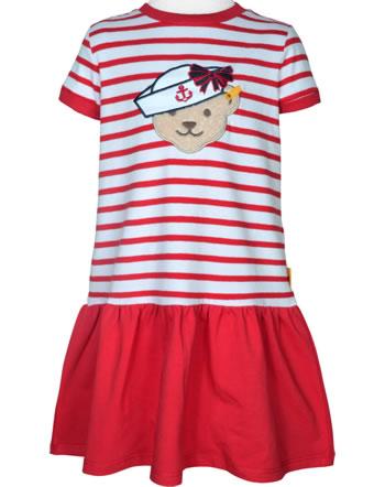 Steiff Dress short sleeve MARINE AIR Mini Girls true red 2112209-4015