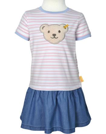 Steiff Kleid Kurzarm Quietsche HELLO SUMMER Mini Girls pink lady 2113234-3033