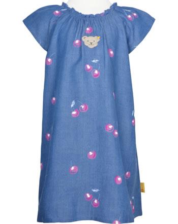 Steiff Dress short sleeve SWEET CHERRY colony blue 2013404-6052