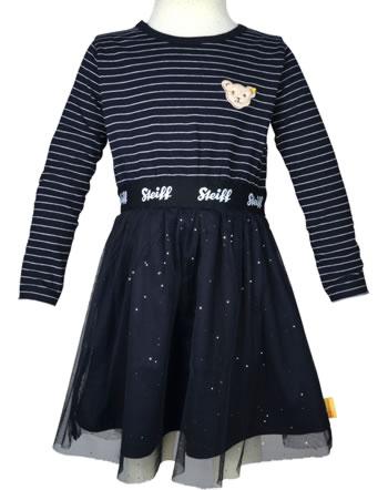 Steiff Dress long sleeve BEAR TO SCHOOL steiff navy 2021214-3032