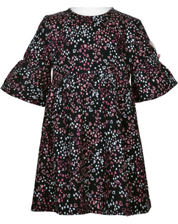 Steiff Dress long sleeve HEARTBEAT black iris 2011312-3032