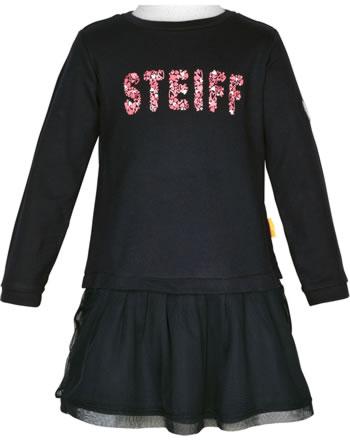 Steiff Dress long sleeve HEARTBEAT black iris 2011325-3032