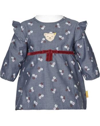 Steiff Dress long sleeve ROSE DENIM folkstone gray 1922202-6100