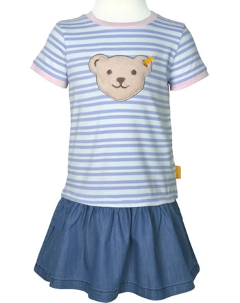 Steiff Kleid Quietsche HELLO SUMMER Mini Girls brunnera blue 2113234-6043