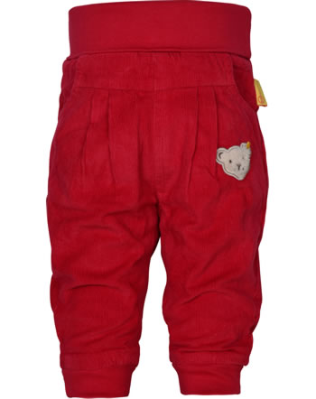 Steiff Pants BEAR TO SCHOOL tango red 2021406-4008