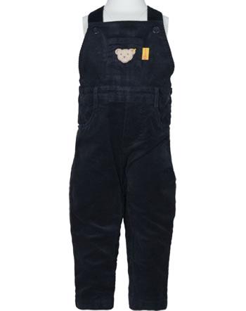 Steiff Kord-Latzhose PAPER PLANE Baby Boys steiff navy 2122317-3032