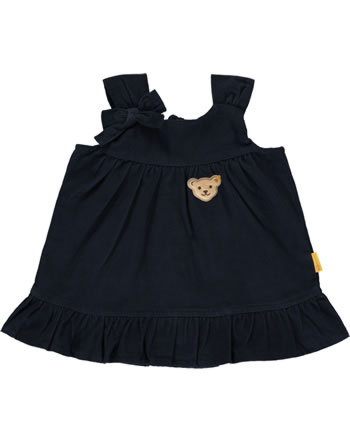 Steiff Kord Träger-Kleid BEAR TO SCHOOL steiff navy 2021412-3032