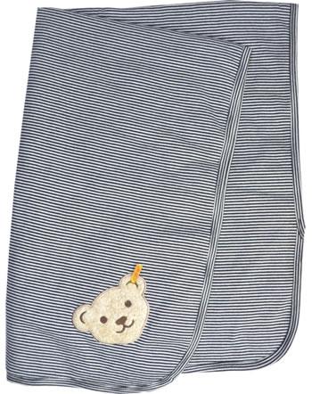 Steiff Blanket BASIC black iris 000020302-6018