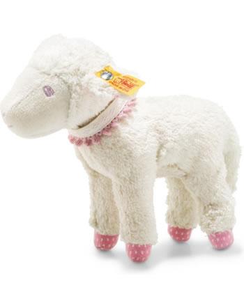 Steiff Lamm Liena 18 cm weiß/rosa 241970