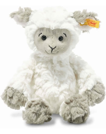 Steiff Lamm Lita 20 cm weiß/braun/grau 073946