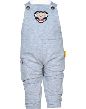 Steiff Dungarees BEAR TO SCHOOL soft grey melange 2021311-9007