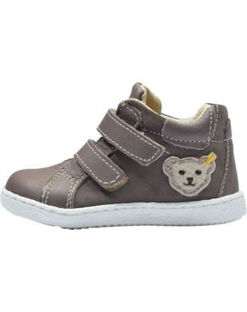 Steiff First steps bootie with velcro RAAPHAEL brown