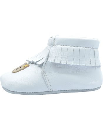 Steiff First steps baby moccasin NOOAH white