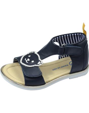 Steiff Leder-Sandale mit Klettverschluss LILLY steiff navy 0019208-3032