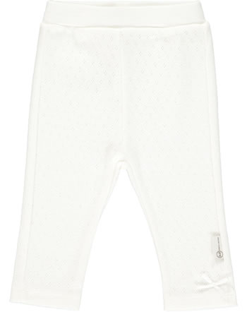Steiff Leggings BABY UNISEX ORGANIC cloud dancer 2012313-1001