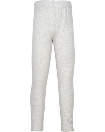 Steiff Leggings BASIC soft grey melange 0021114-9007