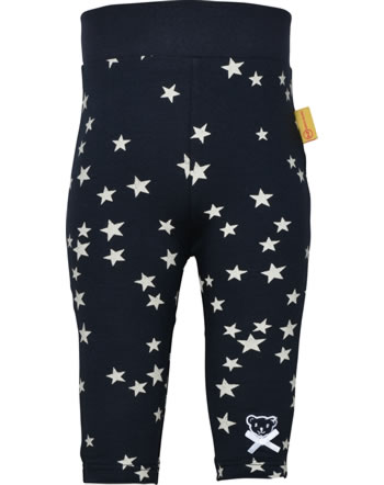 Steiff Leggings BEAR TO SCHOOL steiff navy 2021414-3032