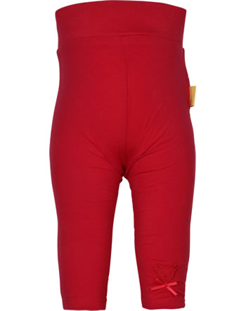 Steiff Leggings BEAR TO SCHOOL tango red 2021409-4008