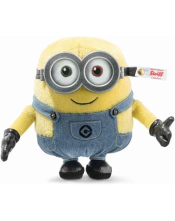 Steiff Minions Bob 16 cm mohair jaune debout 355479