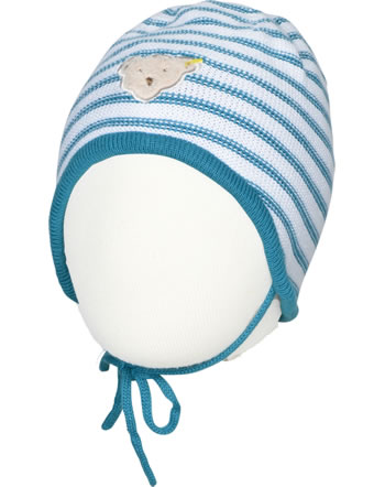 Steiff hat BEAR BLUES stripes faience 2011222-6042