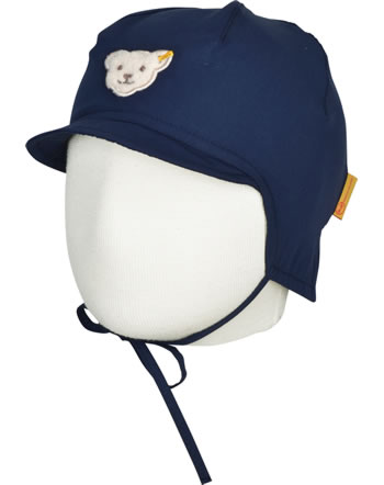 Steiff Hat Denim SAFARI BEAR skydiver 2013120-6040