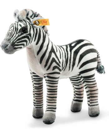 Steiff National Geographic Grants Zebra Zoelle 18 cm schwarz/weiß stehend 024429