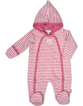 Steiff Overall m. Füßen Fleece BUGS LIFE Baby Girls rapture rose 2111441-3028