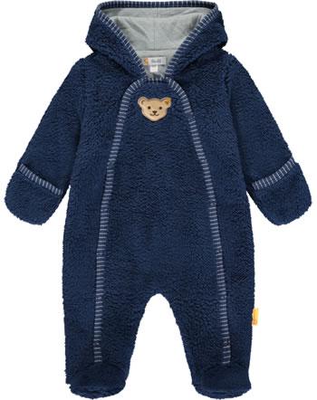 Steiff Overall m. Füßen Teddyplüsch HIGH FIVE Baby Boys deep cobalt 2111339-6062