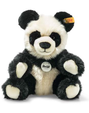 Steiff Panda Manschli 24 cm schwarz/weiß sitzend 060021