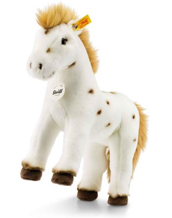 Steiff cheval Spotty 30 cm blanc/brun 071287